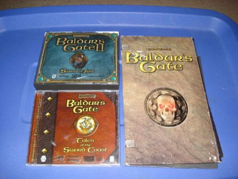 Baldur's Gate, Baldur's Gate II, Tales of the Sword Coast