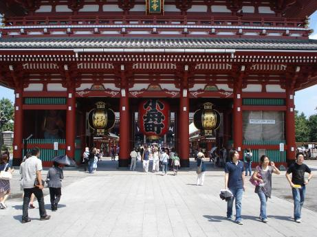 Senso-ji temple in Asakusa, Japan