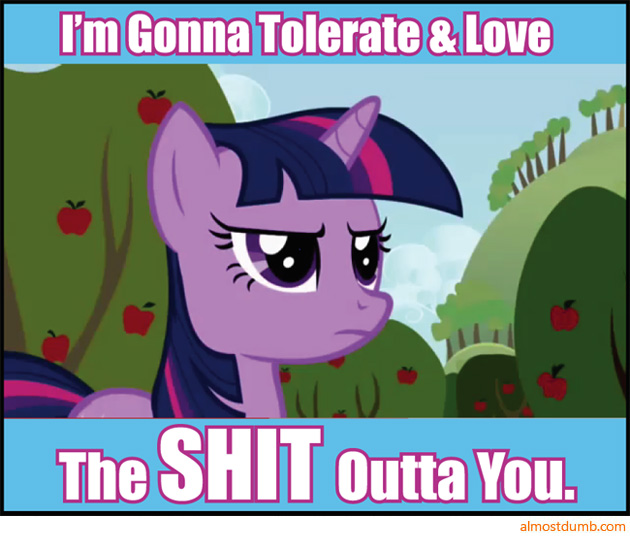 Pony - tolerate and love