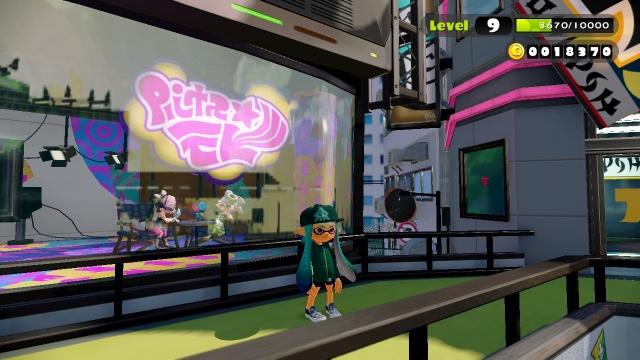 WiiU Splatoon Screenshot