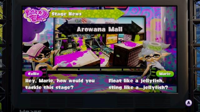 WiiU Splatoon Screenshot Squid Sisters