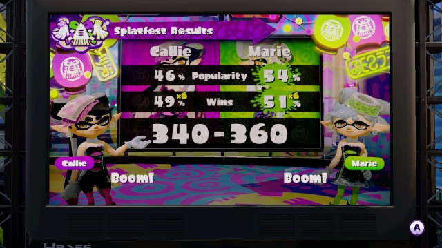 Splatoon 005 Final Score